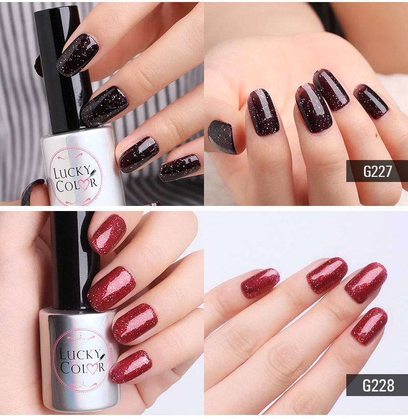 Diamond Red UV Gel Polish For Nail Art Professional LED Soak Off Gel Varnish Lacquer High Quality Free Shipping 10ml Bottle_03