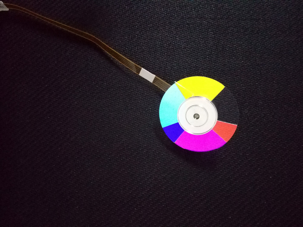 NEW High Quality For ACER PD523 PD525 PD527 Projector Color Wheel