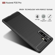 Phone Cases For Huawei Y6 2019 Case Silicone Luxury Carbon Fiber TPU Coque For Hauwei P30 Pro Lite Y9 Y7 Pro Case For Honor 10i(China)
