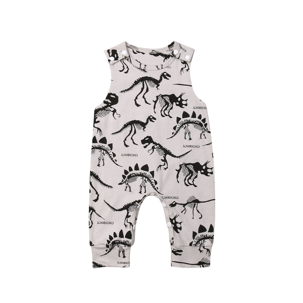 Newborn Baby Boys   Rompers   Sleeveless Infant Boy Jumpsuit Dinosaur Animal Clothes Summer Baby Boy Costumes