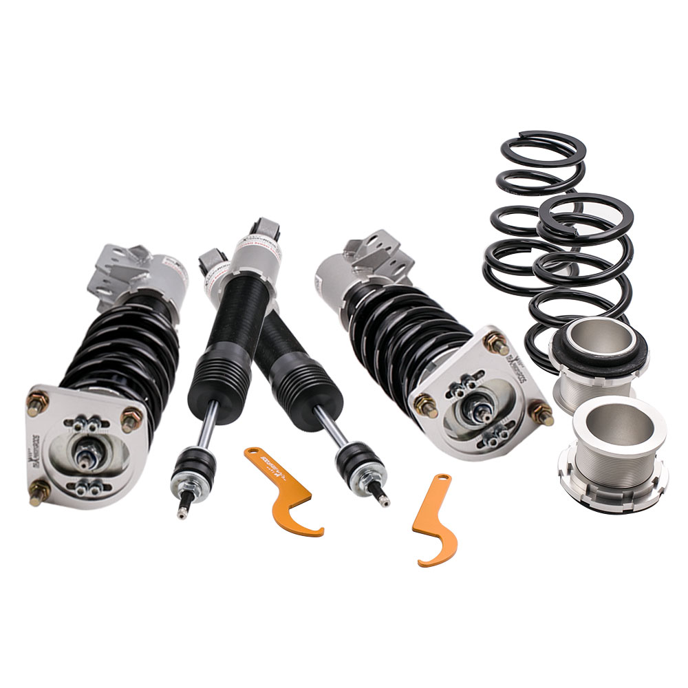 24 Level Adjustable Damper Coilover Suspension Kit for 94 04 fit Ford Mustang 4th Shock Absorber Strut