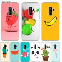 Phone Case 3D Strawberry Banana Bonsai Cover For Samsung Galaxy S3 S4 S5 S6 S7 S8 S9 Edge Plus Note 8 9(China)