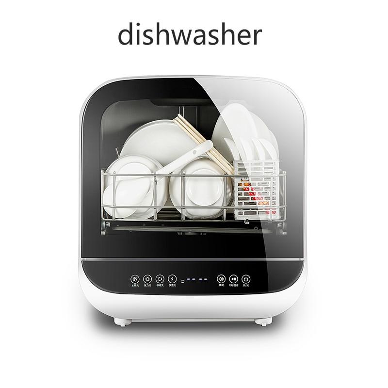 joyoung mini electric dish washer free installation smart auto dishwasher machine drying dish. Black Bedroom Furniture Sets. Home Design Ideas