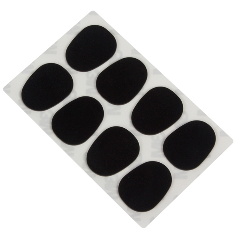 SLADE 8 pcs / pack Universal 0.8mm Alto / Tenor Saxophone Corong Patch Pads Bantal