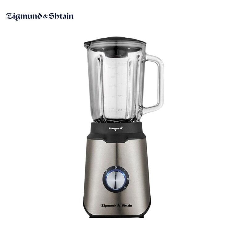 Liquidificador estacionário zigmund & shtain BS-438 d cozinha para smoothies chopper elétrico máquina shredder aparelhos para cozinha