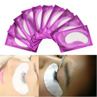 50Pairs/Pack Eyelash Paper Patches Under Eye Pads Lashes Extension Tips Sticker hydrogel eye patch Eyelash Growing & Grafting