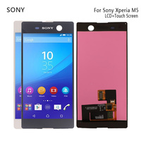 For Sony Xperia M5 LCD Original Display For Sony Xperia M5 LCD Display Touch Screen Digitizer E5603 E5606 E5653 Phone Parts