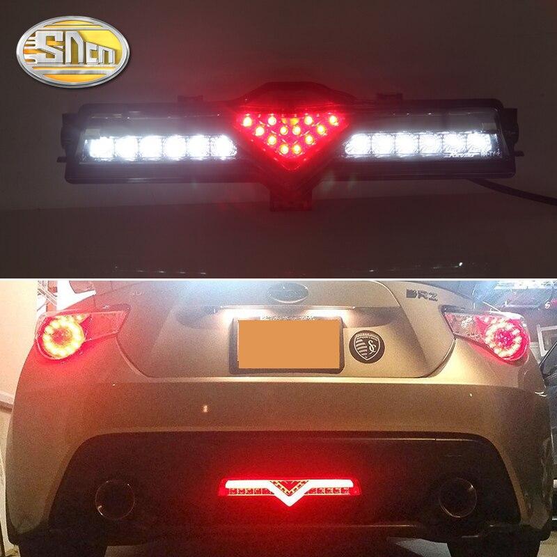 For Toyota 86 GT 2013~/ Subaru BRZ 2013~ / Scion FR-S 2013~ LED Rear Reflector Bumper Lights LED Car Rear Driving Brake Light