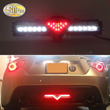 For Toyota 86 GT 2013~/ Subaru BRZ 2013~ / Scion FR-S 2013~ LED Rear Reflector Bumper Lights LED Car Rear driving Brake Light 2pcs led fog light grille cover bezel for ft86 gt86 12 for subaru brz 12 for scion fr s 12