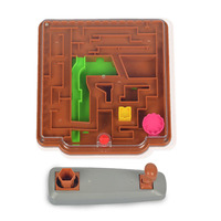 3D Magic Maze Ball Family Game Education Magic Castle Toys Magical Intellect Maze Ball Toys For