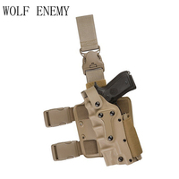 Adjustable Tactical Holster Leg Platform Military Army Combat Leg Holster for GL 17,1911,M92 M9,P226, USP