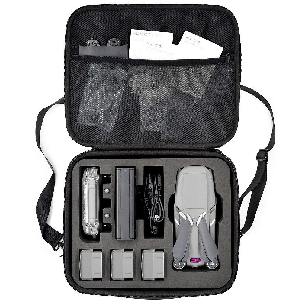 Mavic 2 sac de rangement housse de transport pour DJI Mavic 2 Pro/Mavic 2 Zoom sac à bandoulière contrôleur 4 piles sac à main de la plus haute qualité-in Kits d'accessoires pour drones from Electronique    1