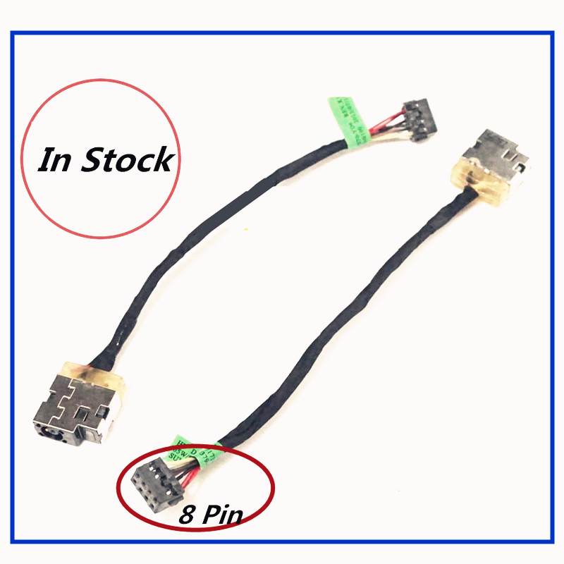 New Laptop DC Power Jack Cable Charging Port Wire For HP 215G1 240G3 246G3 215 G1 G2 242 240 G3 246 G3 250 G3 248 G3 280 G3(China)