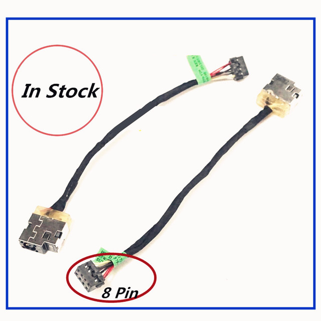 new laptop dc power jack cable charging port wire for hp 215g1 240g3 rh aliexpress com power jack soldering power jack wiring diagram