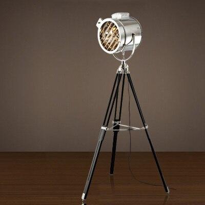 European Tripod Floor Lamps Boraque Vintage Stage Video Camera ...