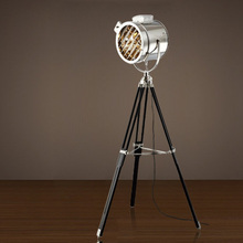 European Tripod Floor Lamps Boraque Vintage Stage Video Camera Photography Luminaire Home Indoor Floor Lights Fixture 110V 220V