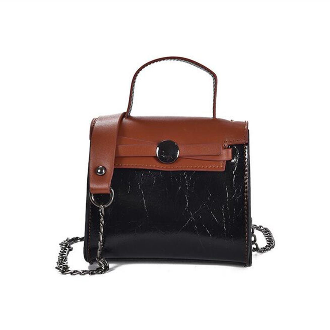 famous designer handbags Bags Women Leather Handbag With Chain Strap women messe
