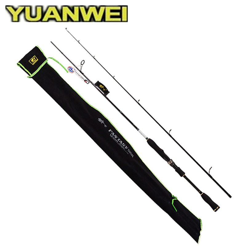 Spinning Fishing Rod 2 Section1.8m,2.1m,2.4,Power:ML/M/MH IM8 Carbon Lure Rods Vara De Pesca Carp Olta Fishing Tackle Carp tsurinoya mystery ii spinning casting fishing rod 1 98m 2 1m m f power carbon fishing pole vara de pesca carp fishing lure rod