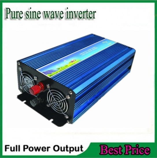 цена на best quality wind or solar Pure Sine Wave Inverter 1500W peak 3000W Pure Sine Wave power inverter 12V/24V DC To 110/220V AC
