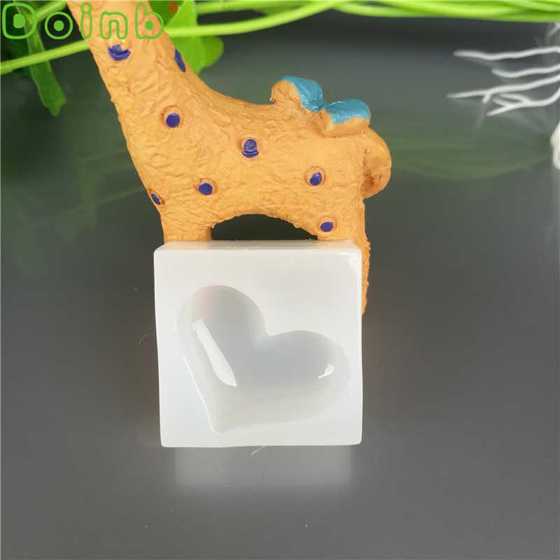 Doinb Bintang Trojan Topi Silikon Cetakan Fondant Kue Dekorasi Icing Perhiasan, Cokelat, Permen pasta Karet Oven Aman Resin Cetakan