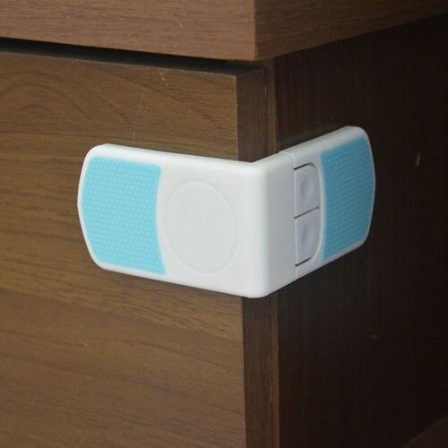 5 unids protección del tope de niños seguridad del armario del gabinete muebles