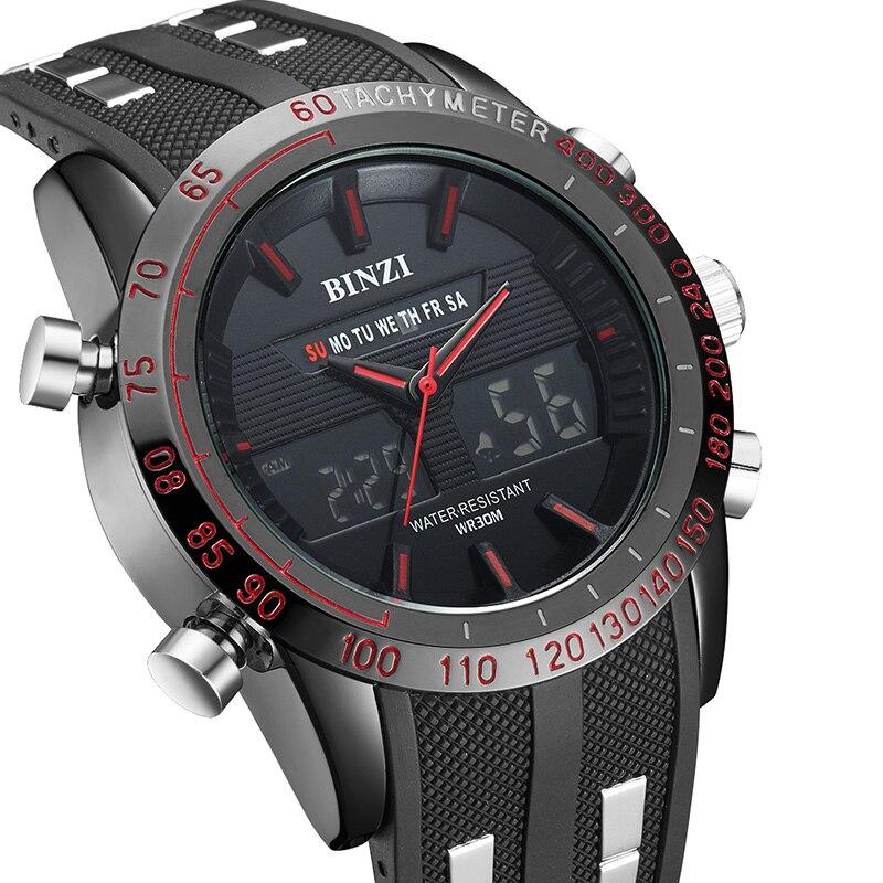 Men Watches Male Brand Sports Watches Silicone Strap LED Digital Military Quartz Watch Men Luxury Wrist Watch Relogio Masculino