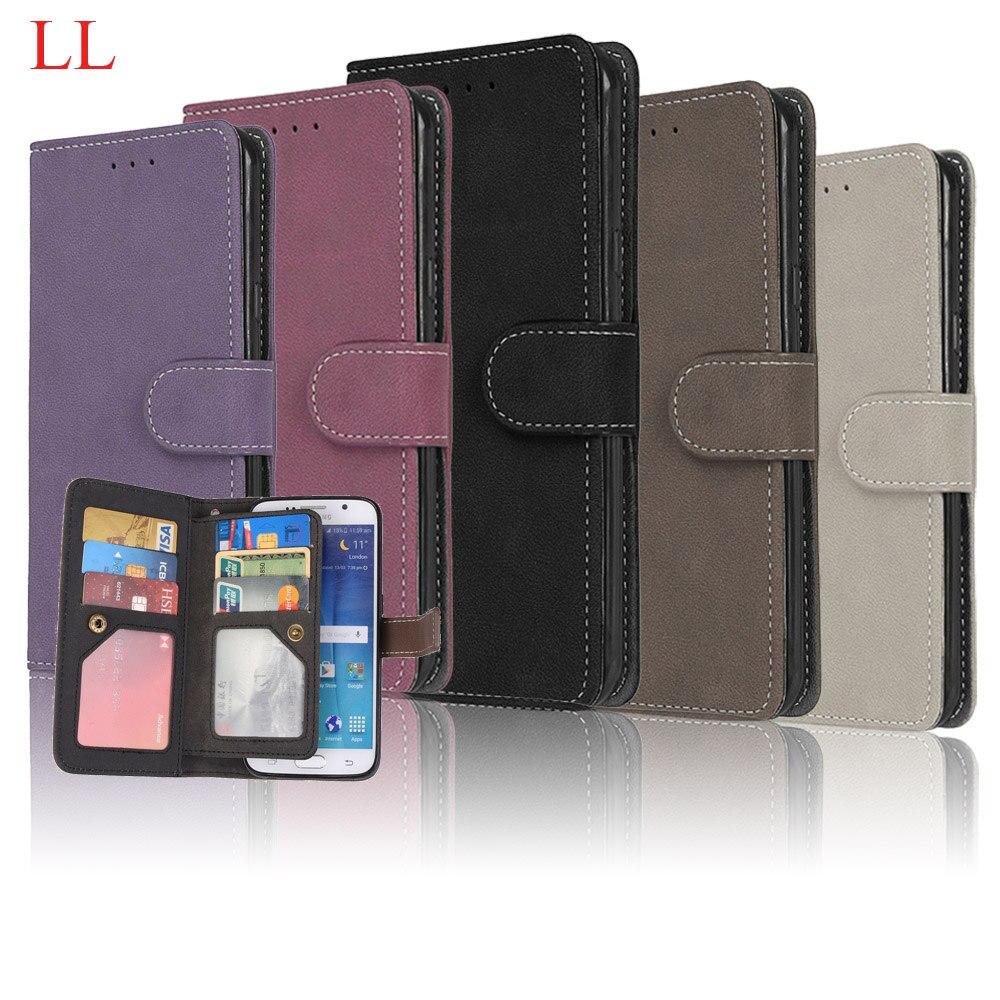 Pour Samsung Galaxy Cas Samsung S8 S8 Cas de Couverture De Luxe Portefeuille PU Cas de Téléphone En Cuir Pour Samsung Galaxy S8 G950F G950 Flip sacs