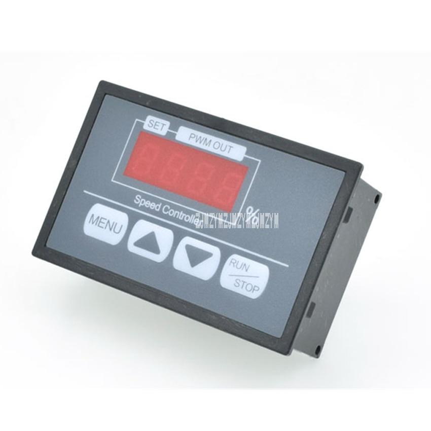 Q8-42s Motor Controller Button Governor Digital Display Percentage Tachometer Dc Motor Slow Start Slow Stop Controller Dc6-60v Motors & Parts