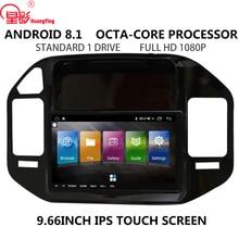 IPS 9.7 INCH Android 8.1 Car Radio Rear Camera no DVD 2din Multimedia video GPS Navigation player For Mitsubishi PAJERO V73 V68