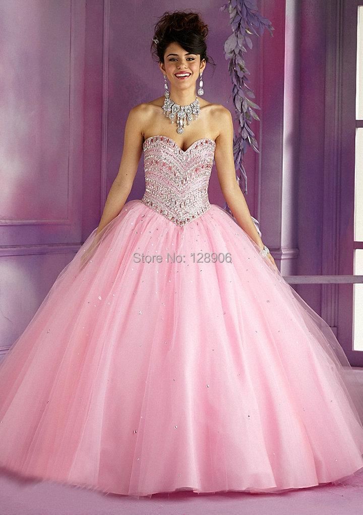 Popular Pink Crystal Dress Sweet 16 Short-Buy Cheap Pink Crystal ...