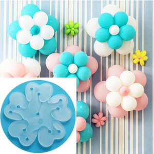 10PCs Plastic Balloon Clips Foam Glue Dot Wedding Birthday Party Decoration Kids Balloon Stand Clips Globos Accessories New Year(China)