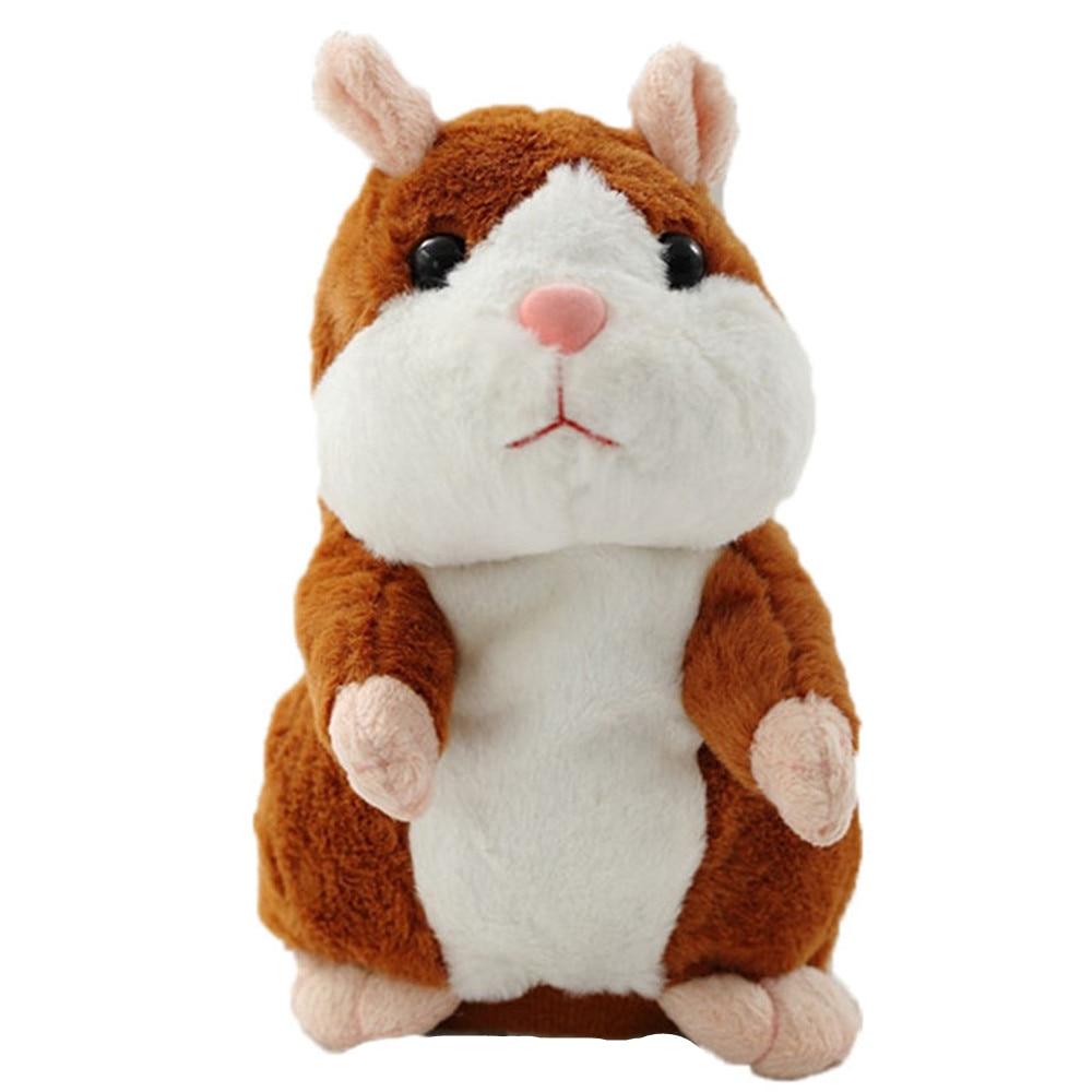 Copii Copii Talking Hamster Mouse Pet Jucărie de pluș Hot Cute - Jucării moi și plușate
