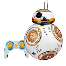 2017 Upgrade Model Ball Star Wars 7 Force Awaken RC BB-8 Droid BB8 Intelligent Robot 2.4G Remote Control Toys With Sound RC Cars