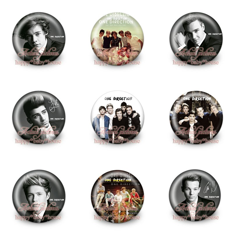 Luggage & Bags Honest Novelty Mini 90pcs One Direction Buttons Pins Badges,round Badges,30mm Diameter,accessories For Clothing/bags,party Gifts