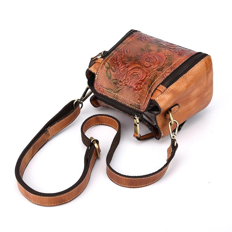 Aliexpress.com   Buy AETOO New fashion handbags wild hand embossed leather  handbag women mini small leather bag shoulder Messenger bag from Reliable  small ... 577227efdb