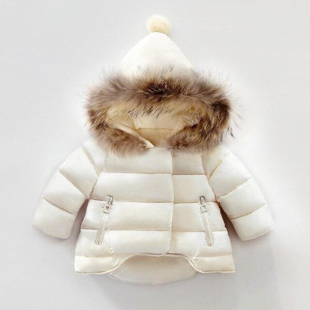 Kinderkleding Winterjas.Kids Snowsuit Winter Baby Meisjes Winterjas Zuigeling Kinderkleding