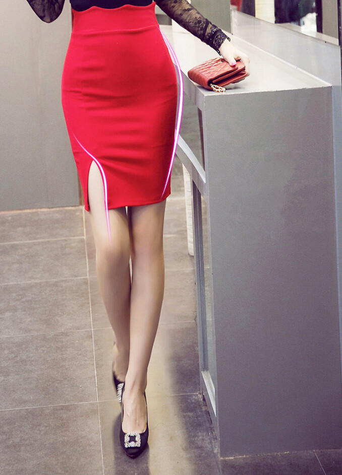 High Quality High Slit Mini Skirt-Buy Cheap High Slit Mini Skirt ...