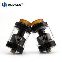 Advken RTA Electronic Cigarette Manta RTA Tank 24mm Diameter Atomizer 4 5ml 3ml Capacity Top Fill