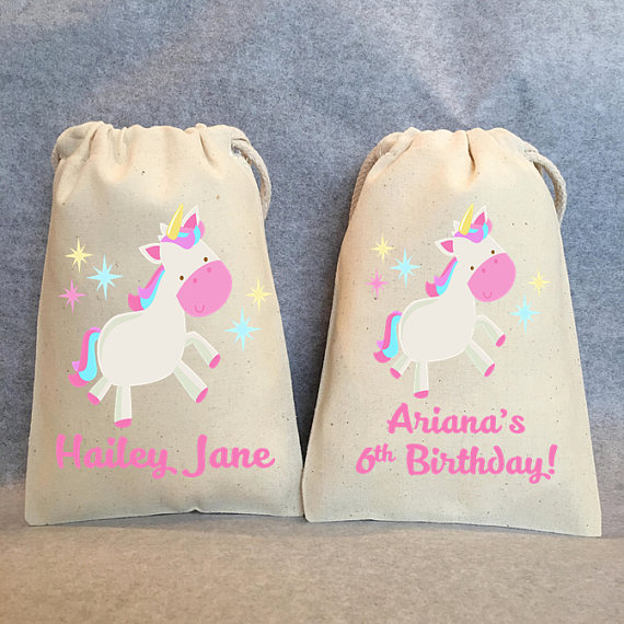 Detail Feedback Questions About Custom Flying Unicorn Kids Birthday Party Candy Pouches Thank You Gift Bags Wedding Bachelorette Hangover Recovery Survival