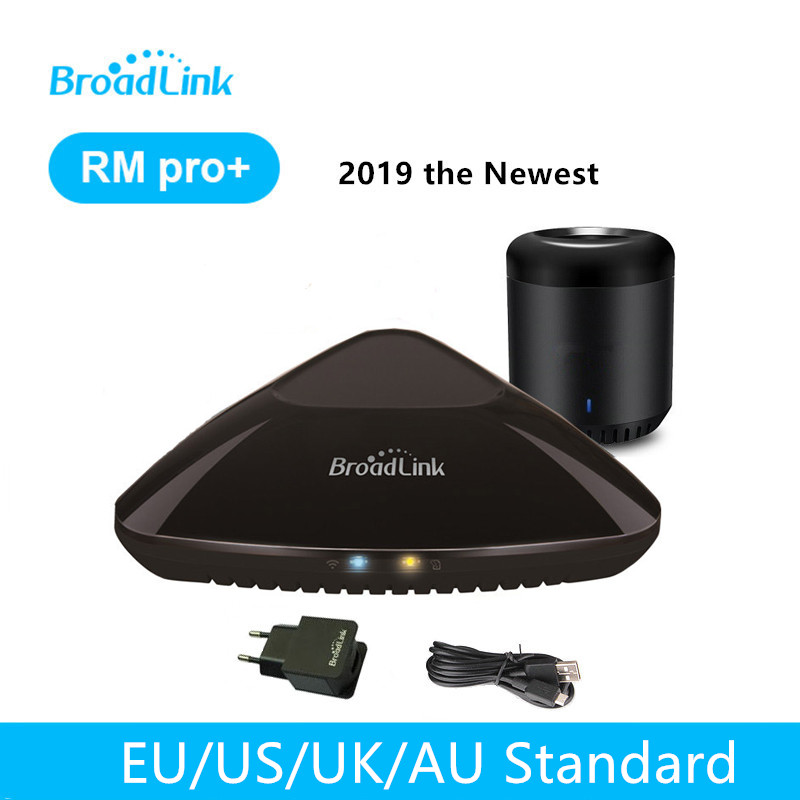 Broadlink RM PRO 2019 RM Mini3 Smart Home Automation WiFi + IR + RF Casa Inteligente Interruptor de Controle Remoto Inteligente Universal controlador