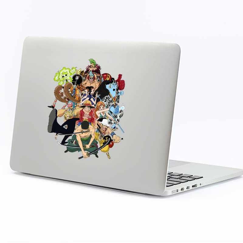 Цельная семейная аниме наклейка для ноутбука Macbook Pro Air retina 11 12 13 15 дюймов hp Dell Mac Book