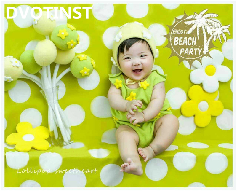 Dvotinst Newborn Baby Photography Props Sunflowers Theme Background Costume Set Fotografia Accessory Studio Shooting Photo Props cx510 cx410 cx310 reset chip for lexmark 510 410 310 toner chip laser printer cartridge chip