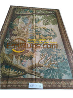 Top Fashion Real Gobelin Picture Tapestry Wall Hanging Pure Wool Handmade Tapestry 154cmx216cm yt 002 5.05x7.08gc169tapyg4