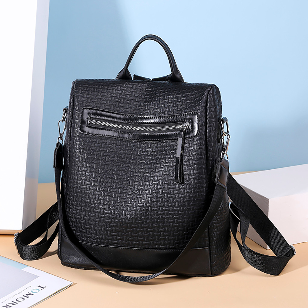 Fashion Women Backpack High Quality Youth PU Backpacks for Teenage Girls Female School Shoulder Bag Bagpack mochila dropshipping(China)
