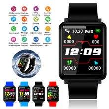 F1 Smart Bracelet Watch BT 4.0 Fitness Tracker Blood Oxygen Blood Pressure Heart Rate Monitor Waterproof Sport Smart Band