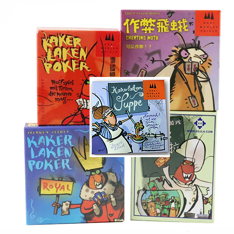 Germany Cockroach Series Board Game 2-6 Players To Play Family/Party/Friends Funny Party Game Send English Instructions To Email