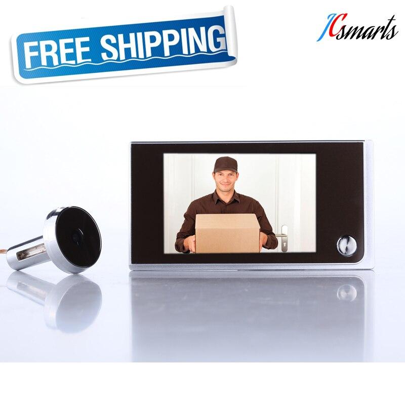 Home security 3.5 moniteur porte spectateur mini porte judas caméra AAA alimenté par batterie long temps de latence Russie livraison gratuite