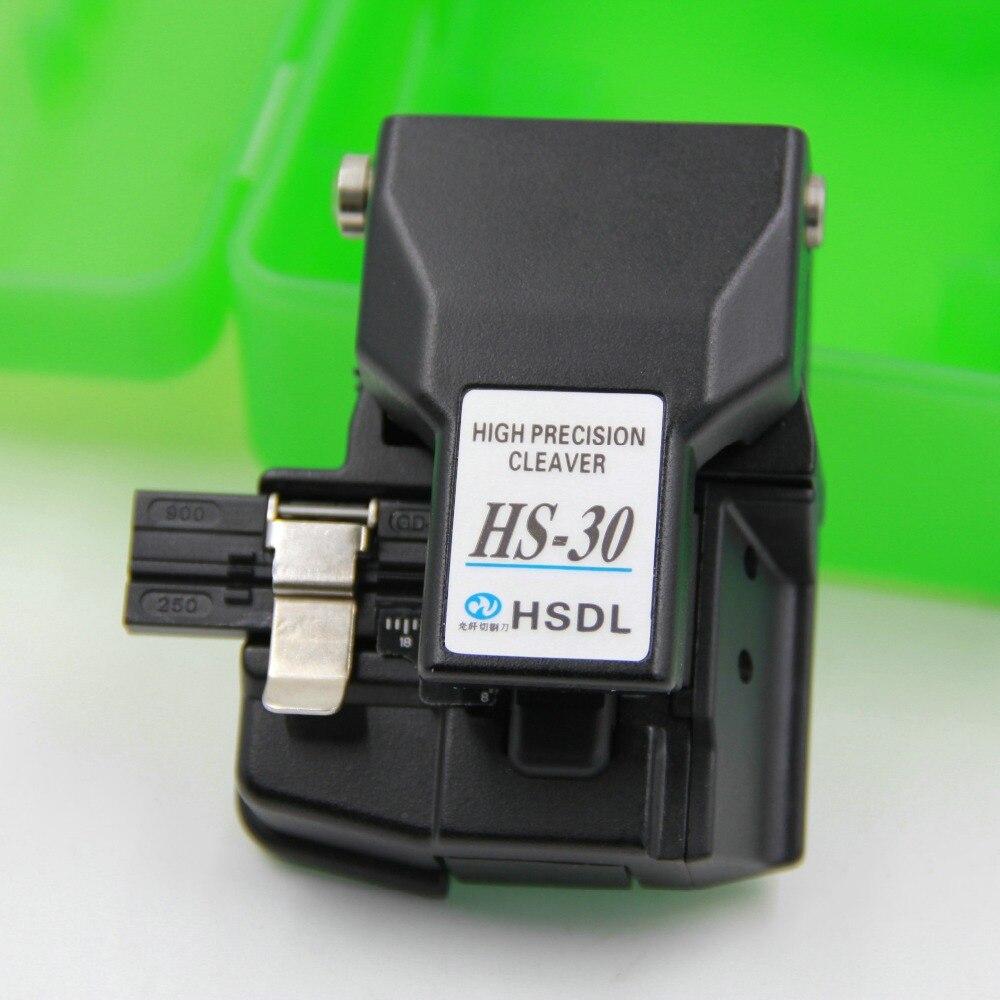 imágenes para Cable de fibra óptica de corte HS-30 comparable optical fiber cleaver cortador cuchillo de corte máquina de soldadura especial Negro