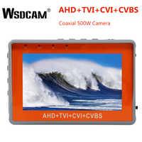4.3 Cal Tester kamery monitoringu nadgarstka 1080P przenośna kamera Tester AHD TVI CVI CVBS Tester TFT LCD analogowy Tester wideo 12V moc wyjściowa
