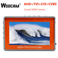 4.3 Polegada pulso cctv tester 1080 p câmera portátil tester ahd tvi cvi cvbs tester tft lcd analógico vídeo testador 12 v saída de potência